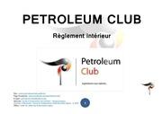 petroleum club reglement interieur final