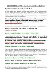 Fichier PDF roadbook circuit sainte croix du mont