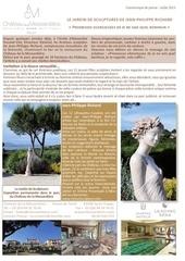 le jardin de sculptures de jean philippe richard