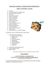 Fichier PDF trousseau conseille