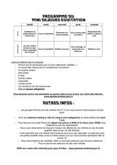 livret programme 2013