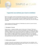 Fichier PDF 6 approches sous estimees pour reussir sa meditation