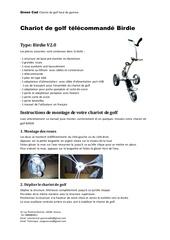 Fichier PDF manuel birdie