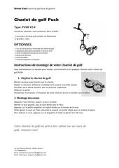 Fichier PDF manuel d utilisation chariot de golf push