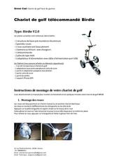 Fichier PDF manuel d utilisation du chariot de golf birdie