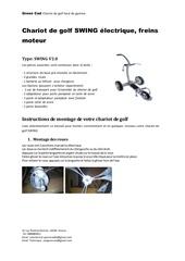 Fichier PDF manuel d utilisation du chariot de golf swing