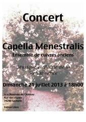 proposition 2 affiche concert capella menes gaillard