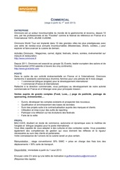 stagiaire cial omnivore 08 13