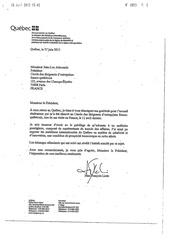 courrier du ministre jean francois lisee