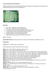 frog crochet cocoon