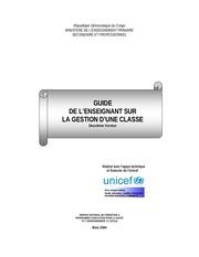 Fichier PDF guide sur la gestion classe