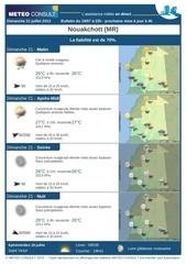 meteo consult prevision ville nouakchott mr 19 07 2013
