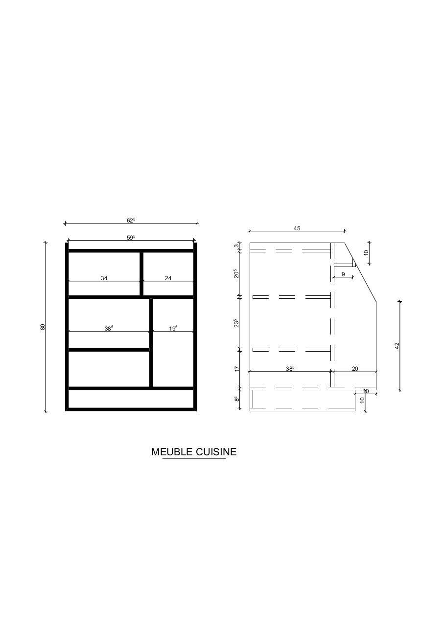 Aps 02 mise en page par cedric meuble for Meuble cuisine standard