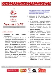 newsletter n 33 vf