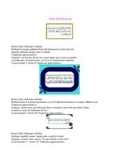 Fichier PDF dua rabbanah