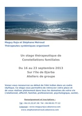 affiche a3 stage djerba sept 2013