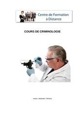 module gratuit criminologie