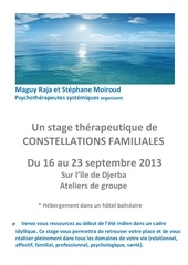 stage de constellations familiales a djerba 2013 2