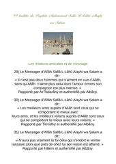 99 hadiths du prophete 2