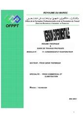m11 condenseur et evaporateur fgt tfcc