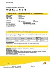 shell tonna oil s 68