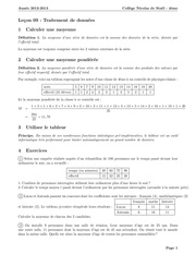Fichier PDF 409 traitement de donnees