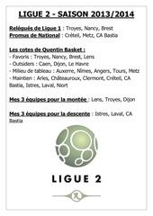 Fichier PDF ligue 2