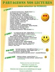 partageons nos lectures fevrier a juillet 2013 mediatheque de liguge