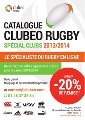 rugby catalogue