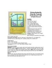 Fichier PDF flying butterfly popup tutorial brenda quintana