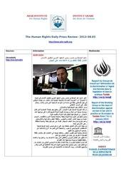 Fichier PDF aihr iadh human rights press review 2013 08 03
