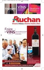 tract foire aux vins auchan ch tellerault