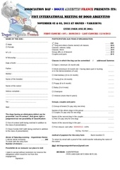 entry form english