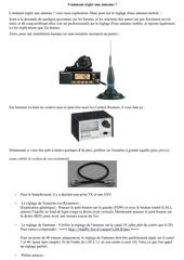 comment regler une antenne par dundee33