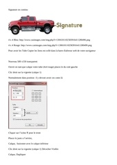 Fichier PDF signature en continu