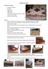 Fichier PDF recette du fraisier