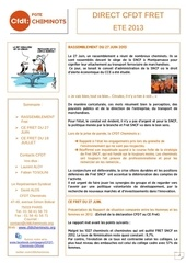 direct cfdt fret ete 2013