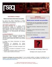info rsaq 05 aout 2013