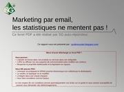 Fichier PDF marketing par email les statistiques ne mentent pas