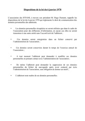 dispositions loi 1978