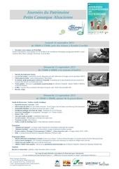 journee du patrimoine pca 2013