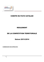 championnat pays catalan 2013 14 deux 1