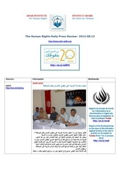 Fichier PDF aihr iadh human rights press review 2013 08 13