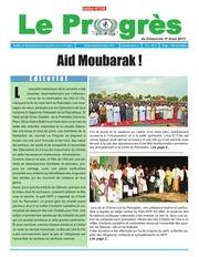 journal le progres n 330 du dimanche 11 aout 2013