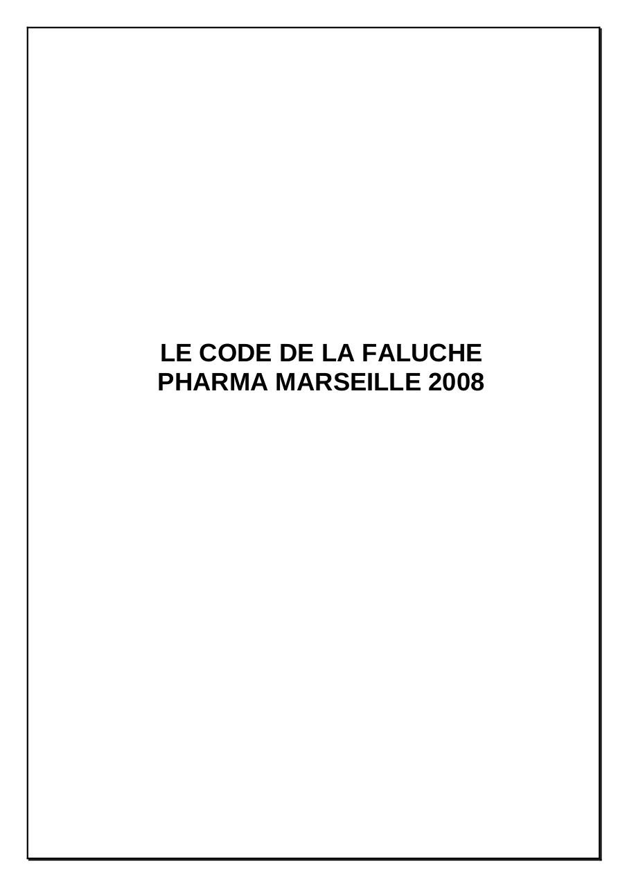 Aperçu du document 2008 Code Marseille Pharmacie.pdf - page 1/12