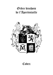 2009 code de l ordre binchois de l apertintaille