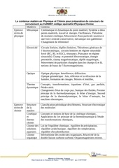 physique chimie 1