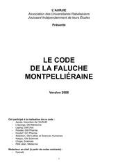 2008 code montpellier aurjie