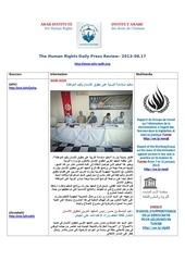 Fichier PDF aihr iadh human rights press review 2013 08 17