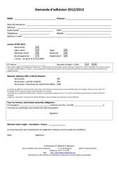 bulletin adhesion emcrb 2013